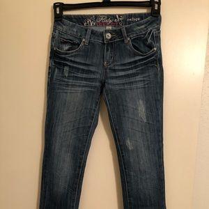 Refuge jeans Flirty Everyday Skinny Size 0s